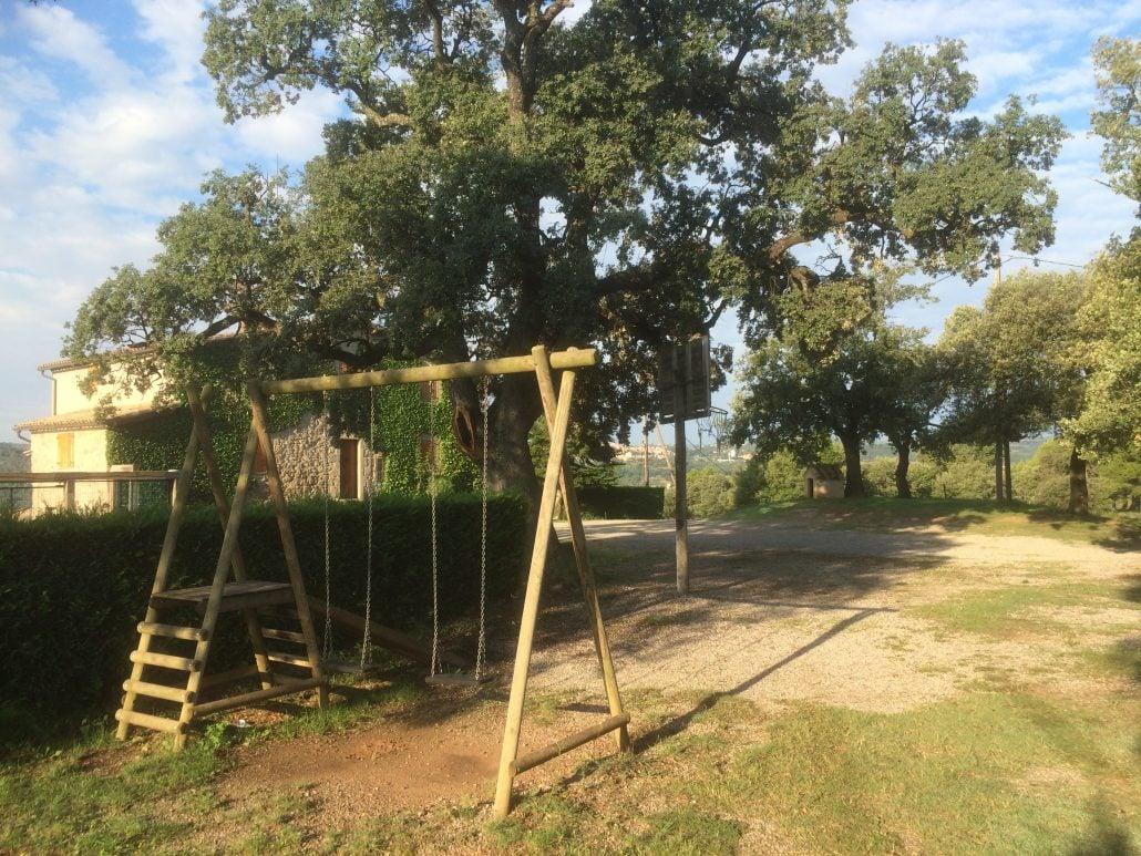 Parc infantil i gronxadors de Cal Peu Curt